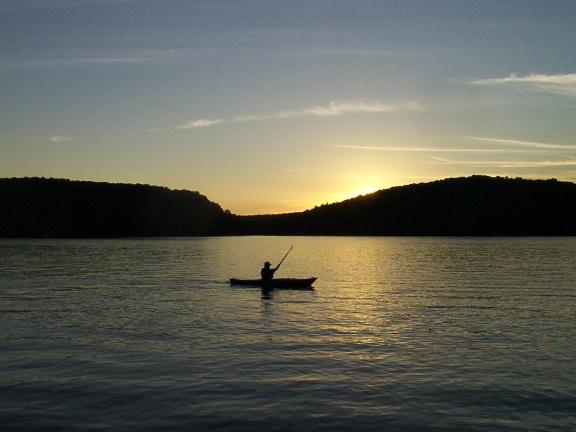 A sunset adventure