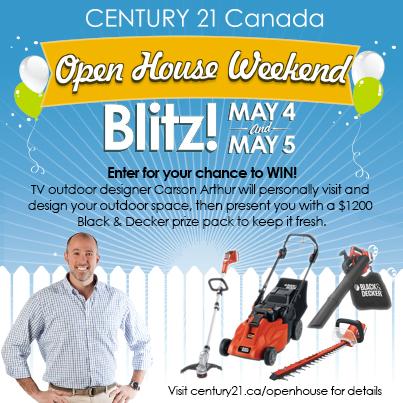 Century 21 Open House Blitz